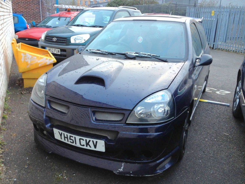 Barryboys.co.uk • View topic - WFS- Clio 1.2 16v From Autotrader