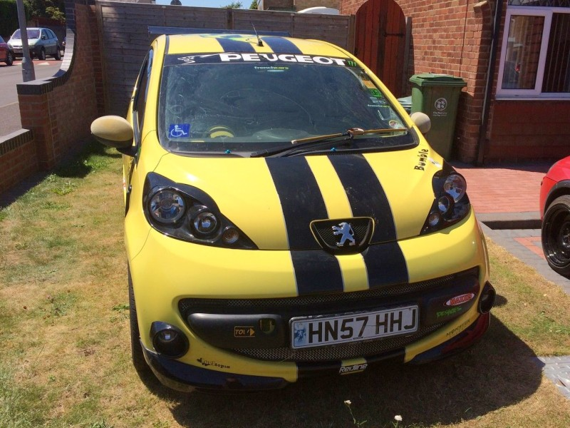 Barryboys.co.uk • View topic - eBay Peugeot 107 \'Former Show Car\'