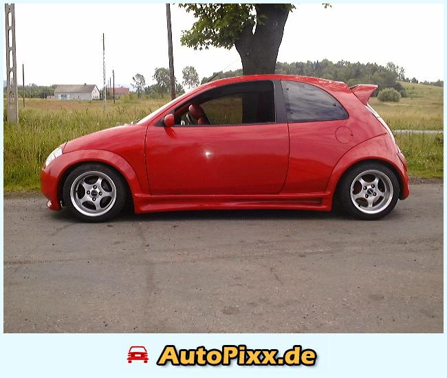 Wfs Red Ford Ka With Little Wheels